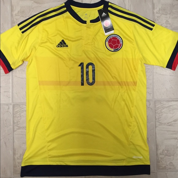 690a1df0d New James 2015 2016 Colombia home men s jersey