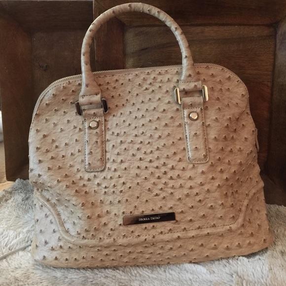 83% off Ivanka Trump Handbags - Ivanka Trump faux ostrich satchel ...
