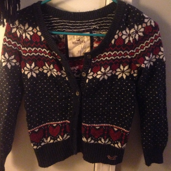Astonishing 82 Off Hollister Sweaters Hollister Christmas Sweater From Ta39S Easy Diy Christmas Decorations Tissureus