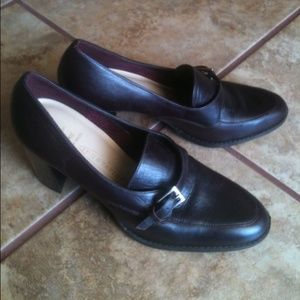 Shoes - Dark Brown Loafers sz 7.5