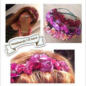 Floral headband crowns (1/2)