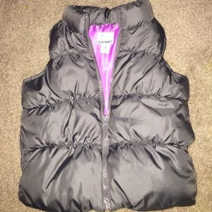 Old Navy vest toddler xs