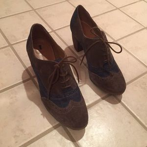 Anthropologie Loafer Booties