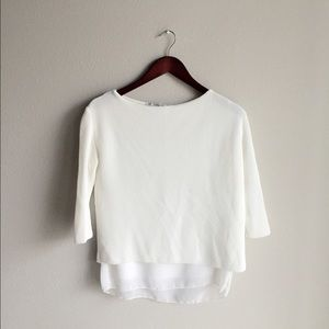 ⬇️ZARA White Blouse