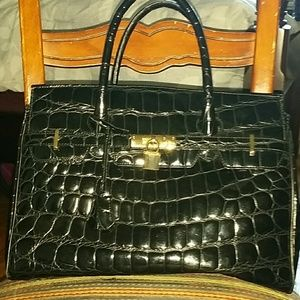 cddd164ca58a condotti Bags - Black Italian patent leather bag!