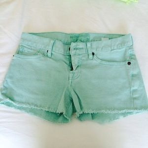 Lucky Brand Colored Jean Shorts