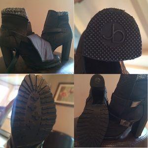 Jessica Bennett Shoes - Jessica Bennett Leather Booties
