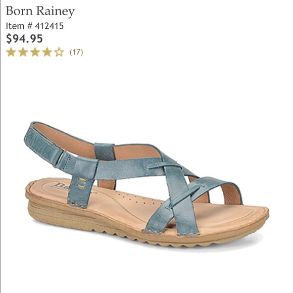 Born Rainey leather sandals