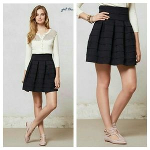 {anthro} ponte bell skirt - girls from savoy