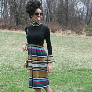 Dresses & Skirts - Vintage Rainbow Dress