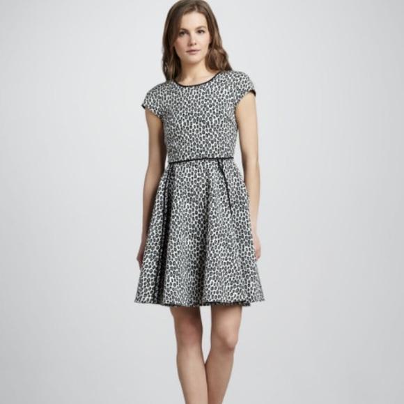 8f9914baa745 Rachel Zoe Dresses   Nwt Iryna Snow Leopard Fitflare Dress   Poshmark