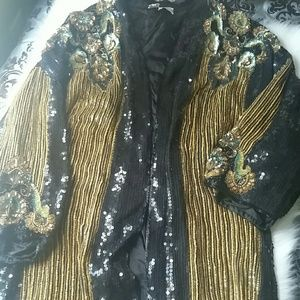 Vintage Sequin Cover Up