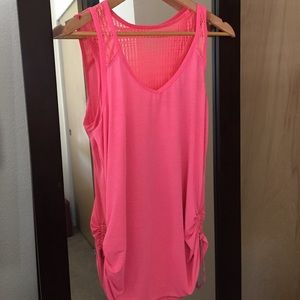 Lululemon Pink Racer Back Top