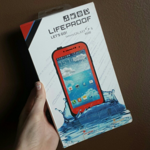 LifeProof Accessories - Galaxy S4 Red Lifeproof case 885dcb912d
