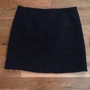 black tight pencil skirt!