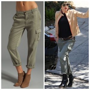 SALE❗️J Brand Green Rolled Cargo Pants