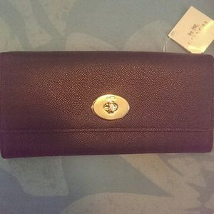 Coach Slim Envelope Wallet with Pop Up Pouch