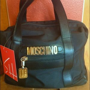 Authentic MOSCHINO handbag/satchel