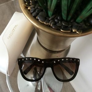 New Valentino Rockstud Sunglasses