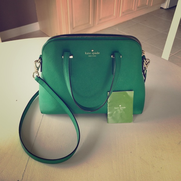 46% off kate spade Handbags - Emerald Green Cedar Street Maise ...