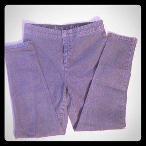 ⚫️2/15$ - Grey wash Jeggings – size 10