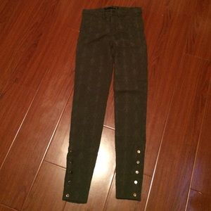 Green Zara pants
