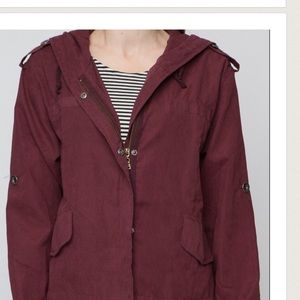 ISO Brandy Melville Maroon Hailey Jacket