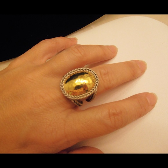 86 off premier designs jewelry silver gold dome ring
