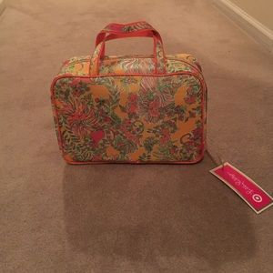 Lilly Pulitzer for Target large cosmetic bag
