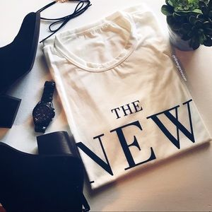 boutique  Tops - 🌟 The New Icon Statement T-shirt 🌟