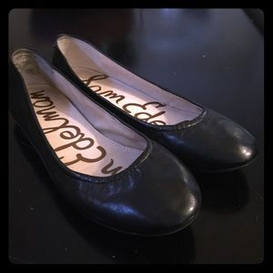 Sam Edelman Black flat shoes