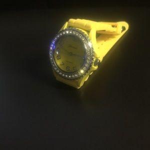 Jewelry - Watch - Yellow