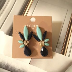 J.crew Split Flower Earrings