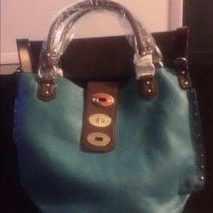 Handbags - Purse - Turquoise