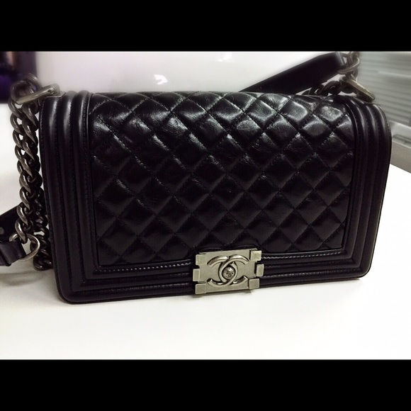 cbe15969a62b CHANEL Bags   Sold100 Authentic Leboy Quilted Medium   Poshmark