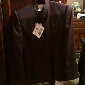 Petite Sophisticate Jackets & Blazers - Beautiful plum jacket