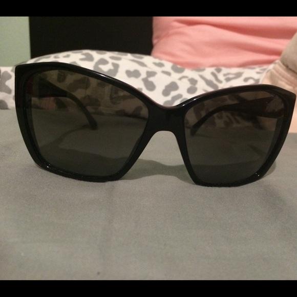 bb72a93e484 CHANEL Accessories - RESERVED Chanel glitter lens sunglasses