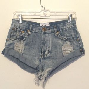 One Teaspoon Shorts Size 23 One Teaspoon Shorts