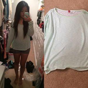 Thin Mint Sweater