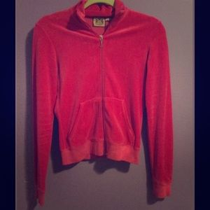 Tops - Juicy Couture velour track jacket