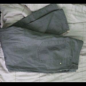 H&M plus green pants