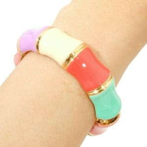 Read247 in Style Jewelry - ☆HP×2☆📚 Bamboo Hinged Bangle - Multi-Color