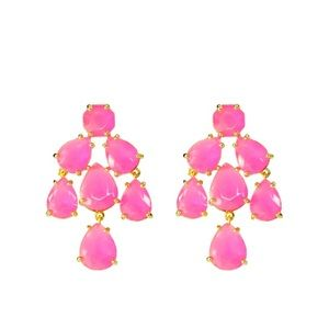 Kate Spade pink earrings 