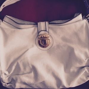 Marc Jacobs off white leather bag