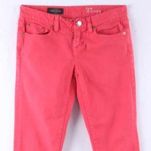 J. Crew Denim - J Crew Coral Toothpick Jeans