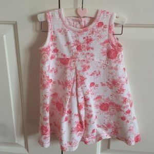 Toddler girls floral dress by Coccoli.