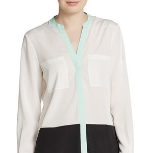 Never Worn Ivanka Trump Colorblock Blouse
