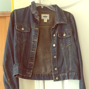 EUC Old Navy blue jean denim jacket XS