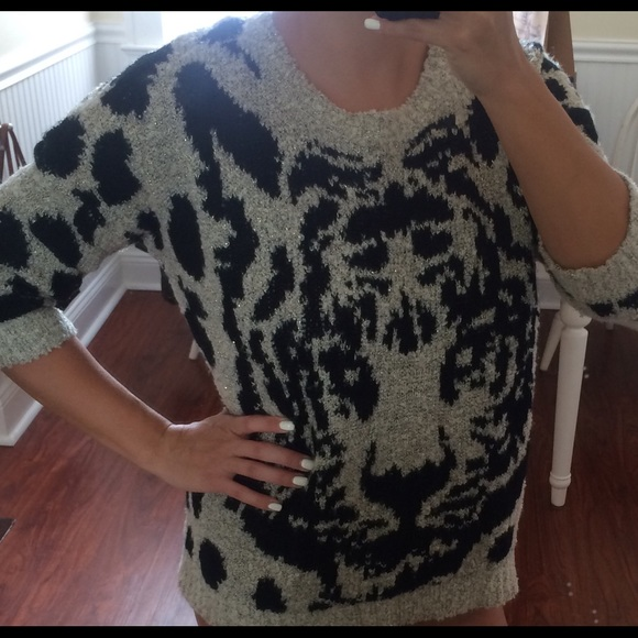 H&m Lion Graphic Sweater