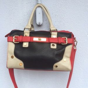 Melie Bianco satchel handbag like new